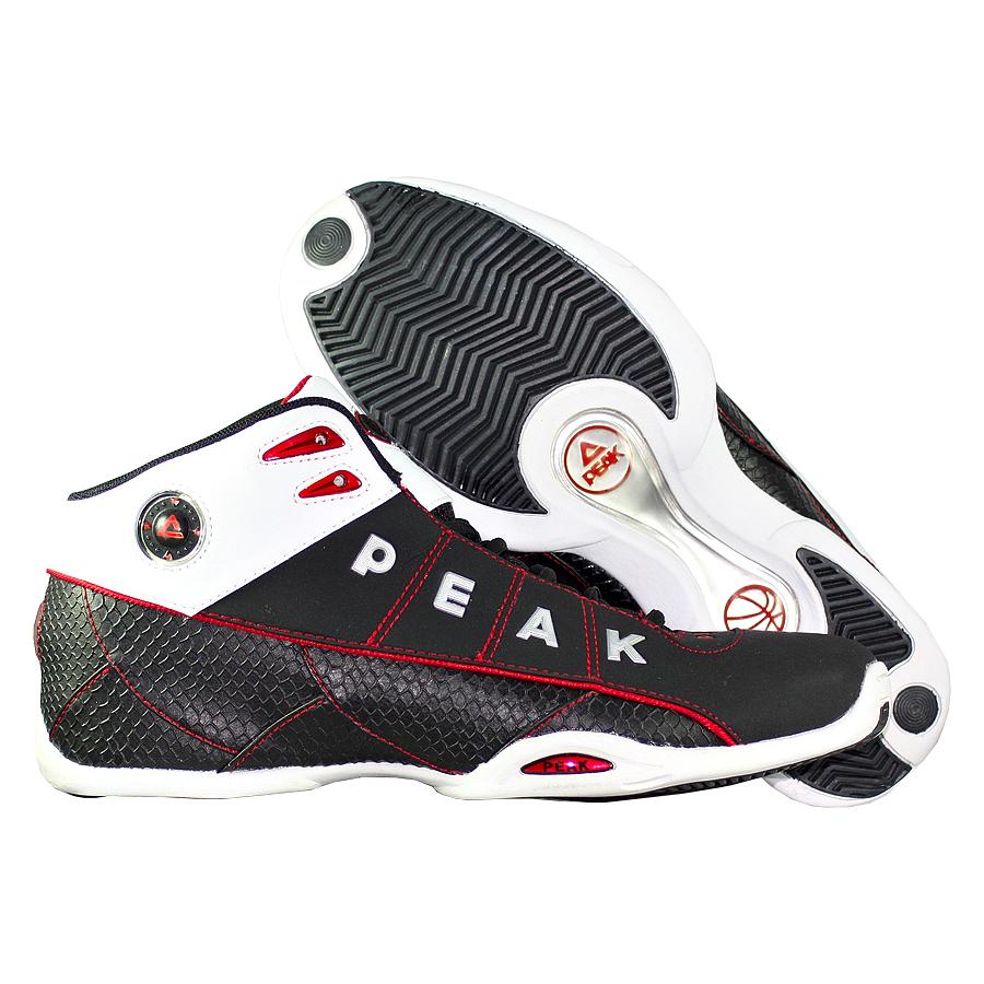 Кроссовки PEAKКроссовки баскетбольные PEAK Snake Mid<br><br>Цвет: Чёрный<br>Выберите размер US: 10,5