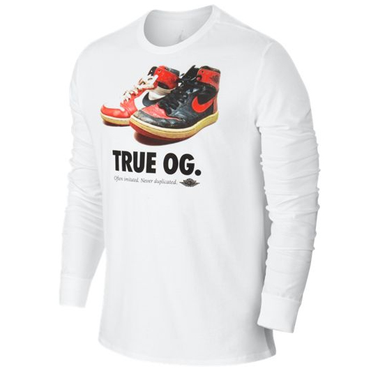 �������� Air Jordan True OG LS