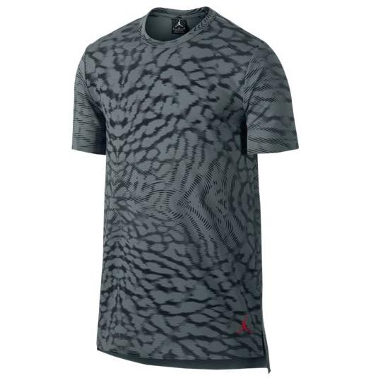 Другие товары JordanФутболка Air Jordan 23 Lux Extended Allover Print SSФутболка Jordan Brand. Материал 100% хлопок<br><br>Цвет: Серый<br>Выберите размер US: XL