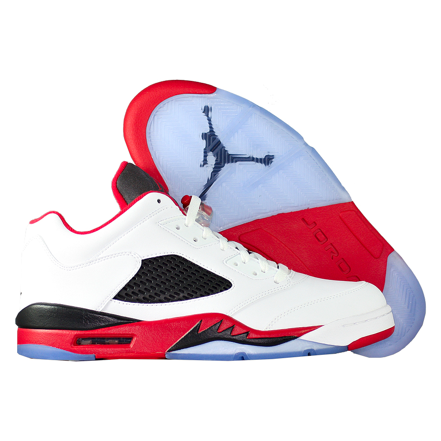 "��������� ������������� Air Jordan 5 (V) Retro Low ""Fire Red"""