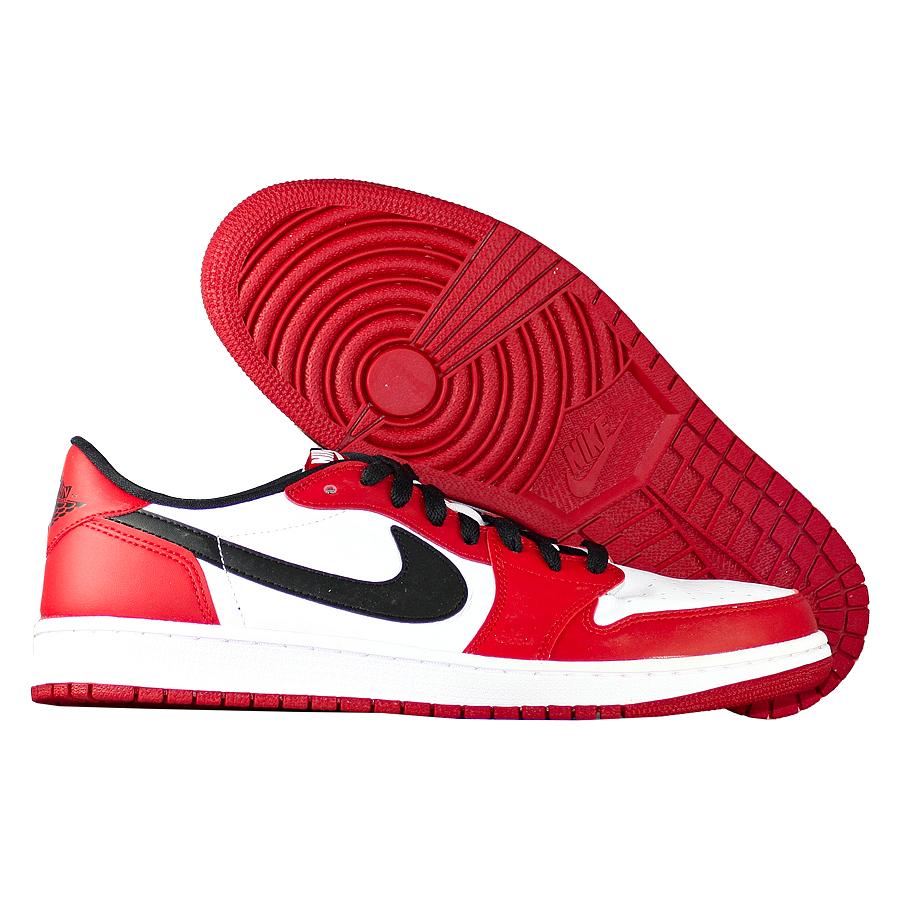 Кроссовки JordanКроссовки Air Jordan 1 Retro Low OG quot;Chicagoquot;<br><br>Цвет: Красный<br>Выберите размер US: 11|12,5|13
