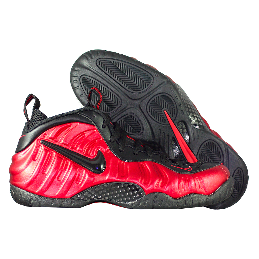 "��������� ������������� Nike Air Foamposite Pro ""University Red"""