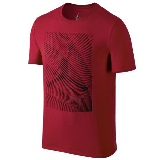 Другие товары JordanФутболка Air Jordan 12 Horizon T-Shirt<br><br>Цвет: Красный<br>Выберите размер US: 2XL