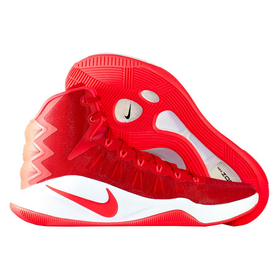 Кроссовки NikeКроссовки баскетбольные Nike Hyperdunk 2016<br><br>Цвет: Красный<br>Выберите размер US: 7|8|9|10,5|11|12|13|15