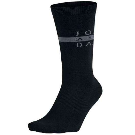 Другие товары JordanНоски Air Jordan Seasonal Print CrewНоски Jordan Brand<br><br>Цвет: Чёрный<br>Выберите размер US: M|L