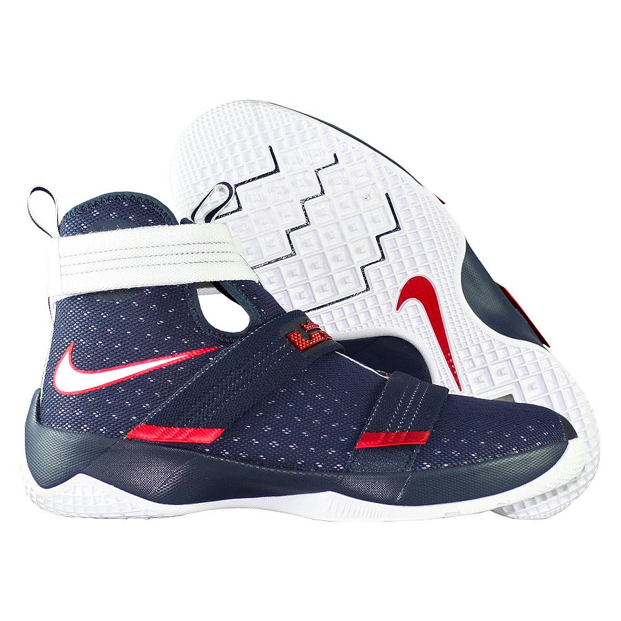 """Кроссовки детские баскетбольные Nike LeBron Soldier 10 GS """"USA"""""""