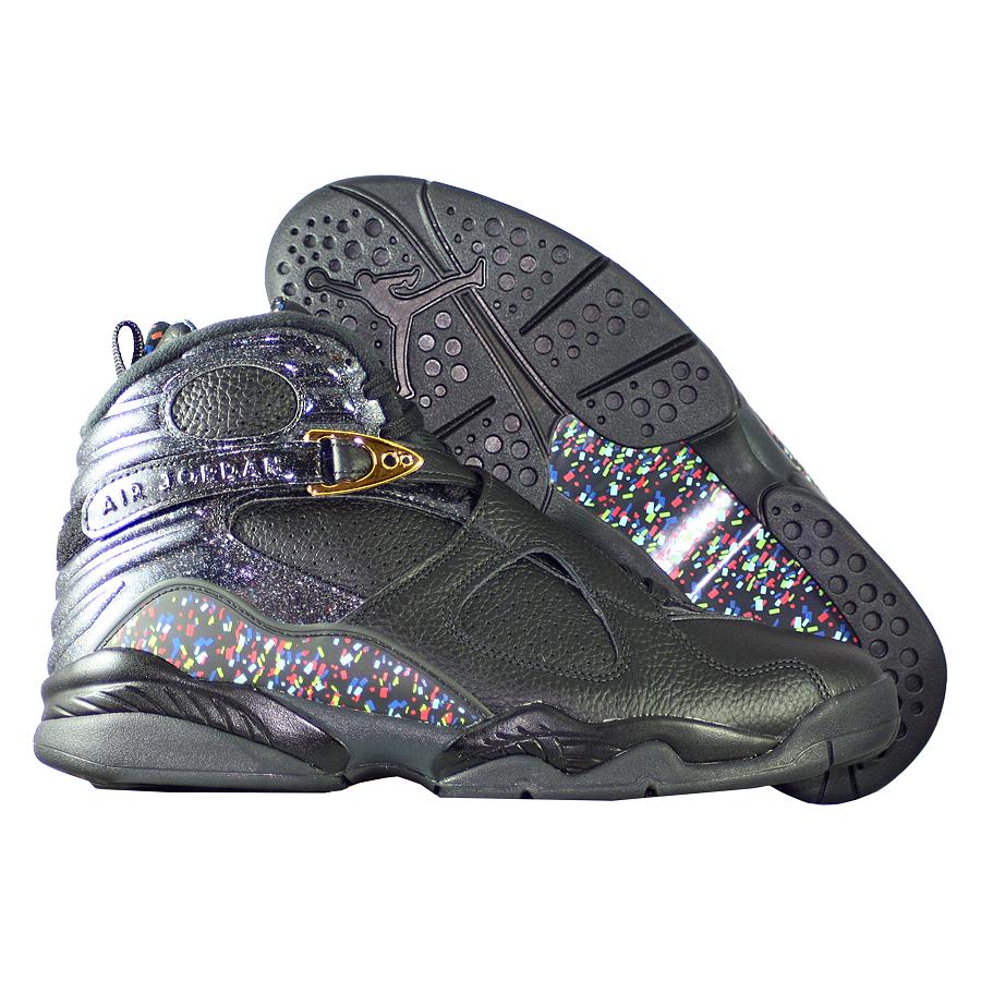"""Кроссовки баскетбольные Air Jordan 8 (VIII) Retro """"Confetti"""" C&C Pack"""