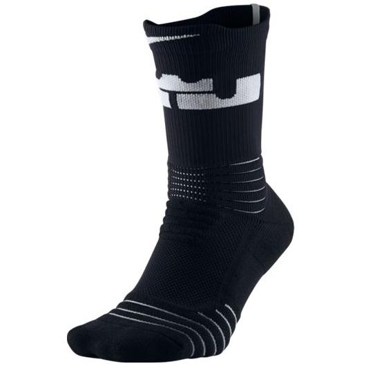 Другие товары NikeНоски баскетбольные Nike LeBron Elite Versatility Crew SockНоски Jordan Brand<br><br>Цвет: Чёрный<br>Выберите размер US: M