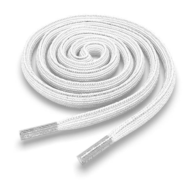 Другие товары Kickz4U.ruШнурки овальные белые 120 см<br><br>Цвет: Белый<br>Выберите размер US: 1SIZE