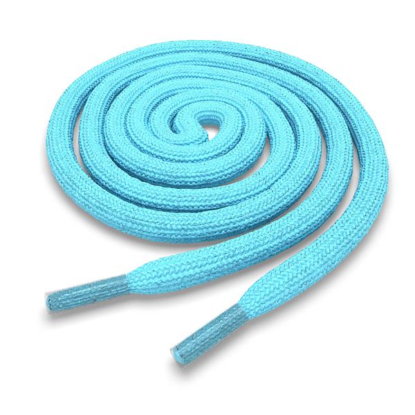 Другие товары Kickz4U.ruШнурки круглые голубые 160 см<br><br>Цвет: Голубой<br>Выберите размер US: 1SIZE