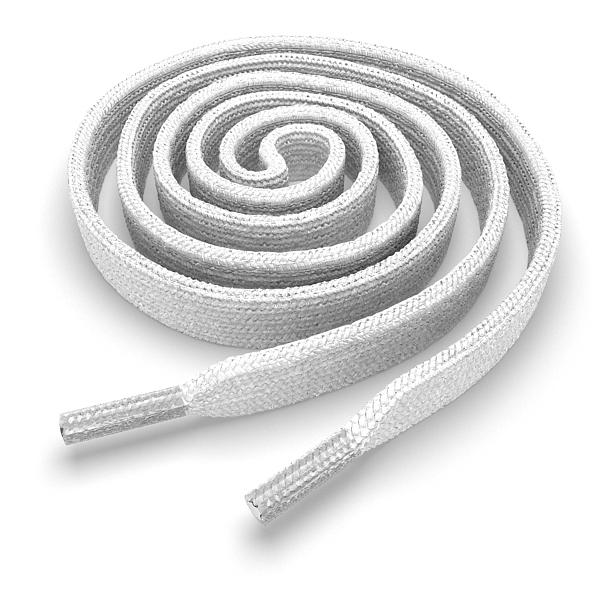 Другие товары Kickz4U.ruШнурки плоские белые 180 см<br><br>Цвет: Белый<br>Выберите размер US: 1SIZE