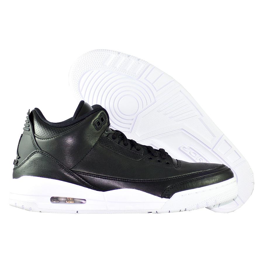 Кроссовки JordanКроссовки баскетбольные Air Jordan 3 (III) Retro quot;Cyber Mondayquot;<br><br>Цвет: Чёрный<br>Выберите размер US: 10,5|11