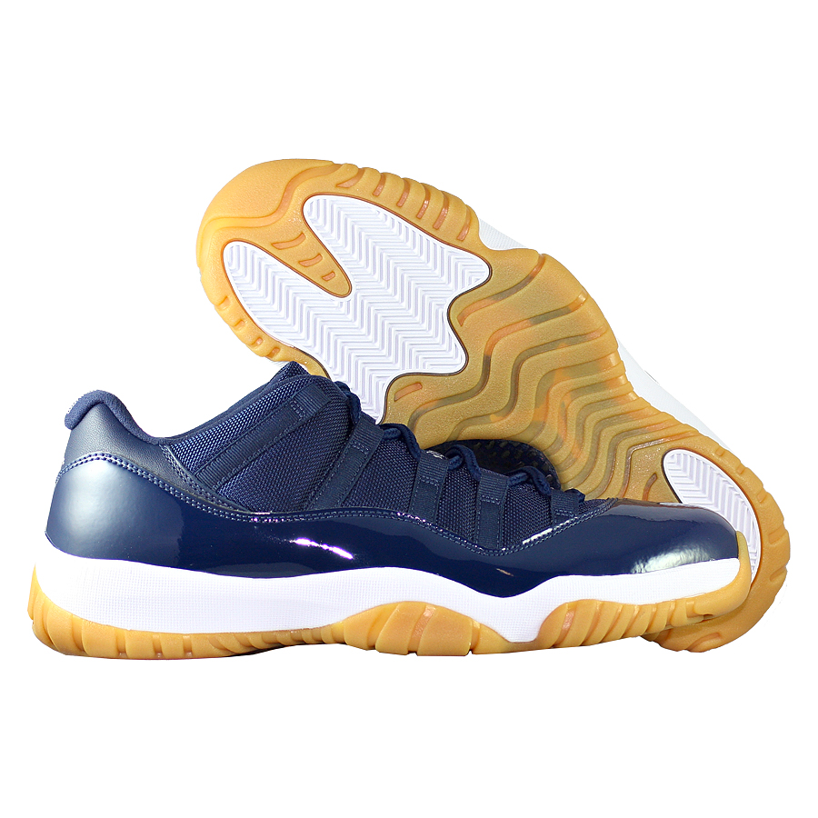 "��������� ������������� Air Jordan XI (11) Retro Low ""Navy Gum"""