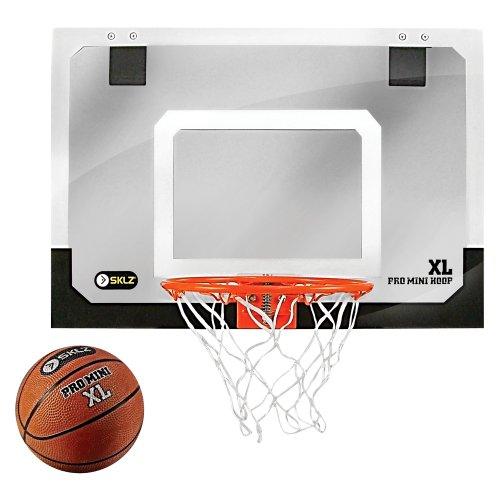 Другие товары SKLZБаскетбольное кольцо SKLZ Pro Mini Hoop XLДомашнее кольцо для баскетбола, которое имеет свойства профессионального. Hoop Pro Mini идеально подходит для дома, офиса или общежития. В комплекте - мини-мяч для баскетбола диаметром 14 см.<br><br>Цвет: Белый<br>Выберите размер US: 1SIZE