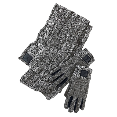 �������� ���� � �������� Jordan Heathered Scarf and Glove