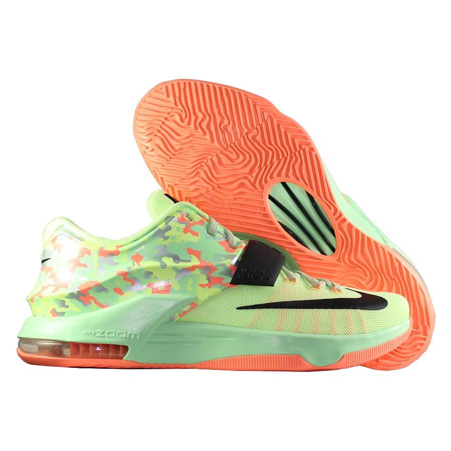 Кроссовки NikeКроссовки баскетбольные Nike KD VII quot;Easterquot;<br><br>Цвет: Зелёный<br>Выберите размер US: 12