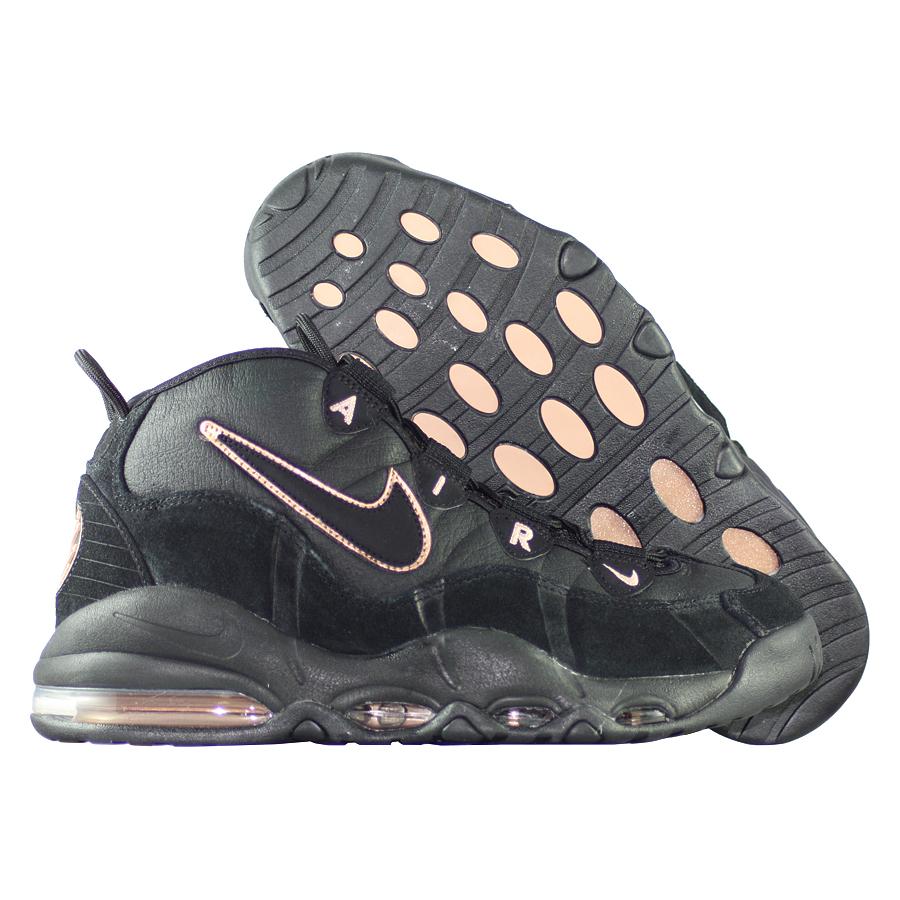 Кроссовки NikeКроссовки баскетбольные Nike Air Max Uptempo Bronze<br><br>Цвет: Чёрный<br>Выберите размер US: 10,5
