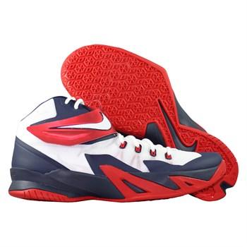 Купить Кроссовки баскетбольные Nike Zoom Soldier VIII USAB (артикул: 653641-114) в интернет магазине кроссовок, спортивной обуви и формы