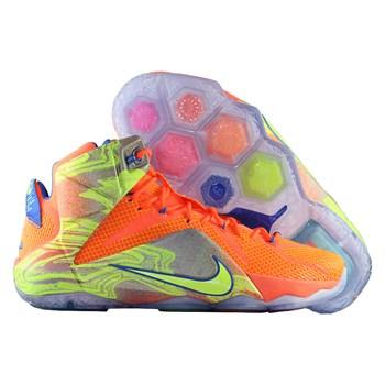 Купить Кроссовки баскетбольные Nike LeBron XII Six Meridians (артикул: 684593-870) в интернет магазине кроссовок, спортивной обуви и формы