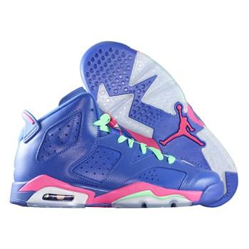 Купить Кроссовки детские баскетбольные Jordan VI (6) Retro Game Royal (артикул: 543390-439) в интернет магазине кроссовок, спортивной обуви и формы