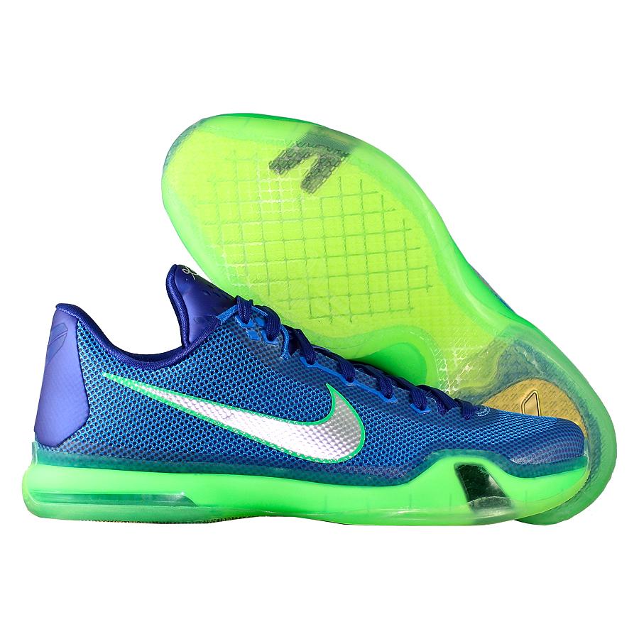 a38e6e87 Купить Кроссовки баскетбольные Nike Kobe X 10 Emerald City по цене 0 ...