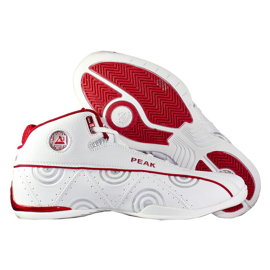 Кроссовки PEAKКроссовки баскетбольные PEAK Spinmaster Mid<br><br>Цвет: Белый<br>Выберите размер US: 9,5|10