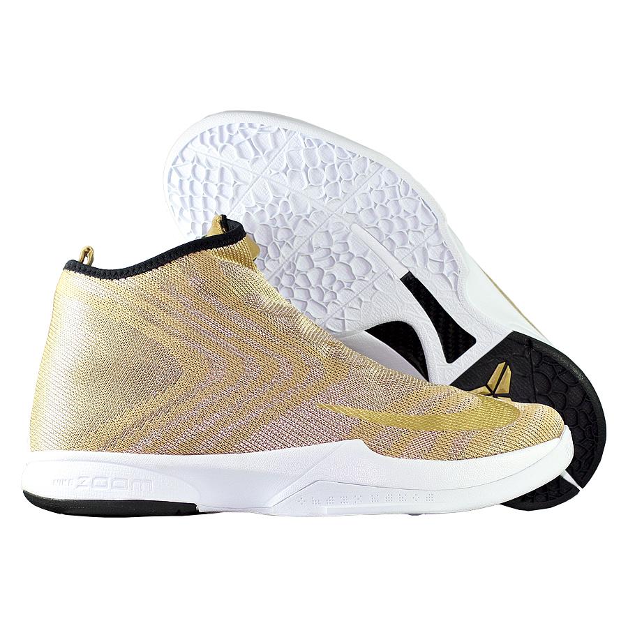 best website 11a29 f6d05 ... Купить Кроссовки баскетбольные Nike Zoom Icon Jacquard Gold-1 ...