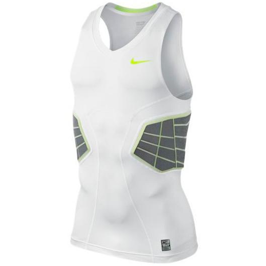 Другие товары NikeМайка компрессионная Nike Elite HyperStrong Shirt<br><br>Цвет: Белый<br>Выберите размер US: XL