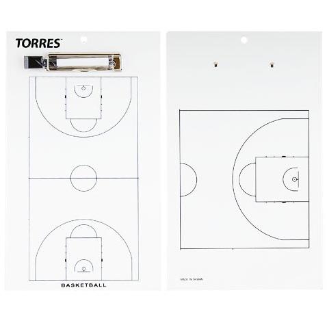 Другие товары TorresТактическая доска для баскетбола TORRESДоска тренерская тактическая. Используйте эту двухстороннюю магнитную я доску, чтобы построить свою команду и отслеживать статистику. Изготовлена из прочного листового металла и ПВХ. Размер доски 21,6 см х 33 см.<br><br>Цвет: Белый<br>Выберите размер US: 1SIZE