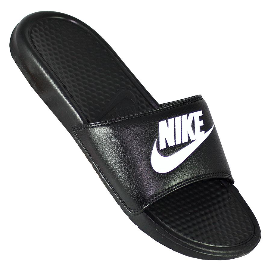 Другие товары NikeСланцы Nike Benassi Just Do It<br><br>Цвет: Чёрный<br>Выберите размер US: 10