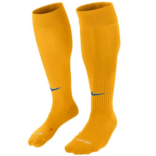 Другие товары NikeГетры спортивные Nike Classic II Socks<br><br>Цвет: Жёлтый<br>Выберите размер US: S|L