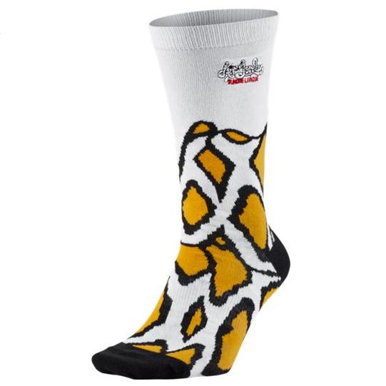 Другие товары JordanНоски Air Jordan Ice Cream Pack SocksНоски Jordan Brand<br><br>Цвет: Белый<br>Выберите размер US: L
