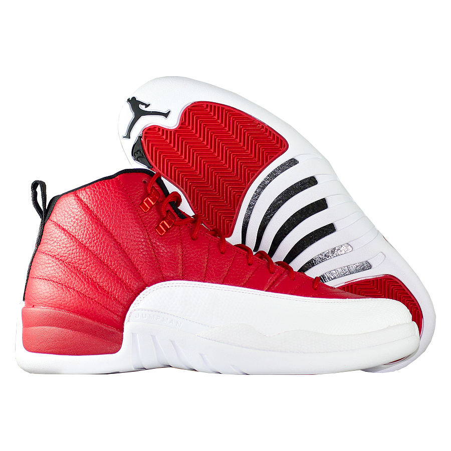 Кроссовки JordanКроссовки баскетбольные Air Jordan 12 (XII) Retro quot;Gym Redquot;<br><br>Цвет: Красный<br>Выберите размер US: 16