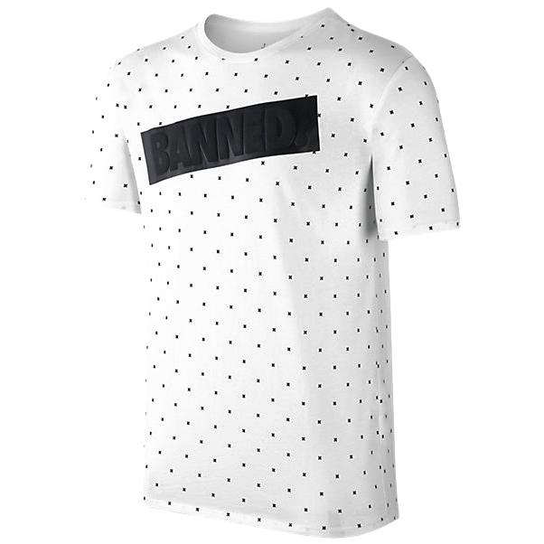 Другие товары JordanФутболка Air Jordan 1 Banned T-ShirtФутболка Jordan Brand. Материал 100% хлопок<br><br>Цвет: Белый<br>Выберите размер US: 2XL