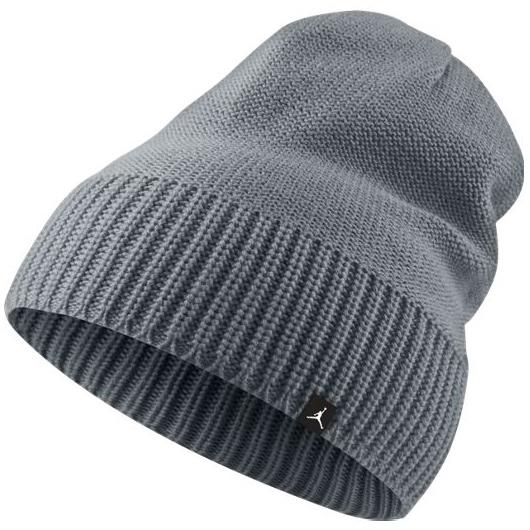 Другие товары JordanШапка Air Jordan Jumpman Knit Hat<br><br>Цвет: Серый<br>Выберите размер US: 1SIZE