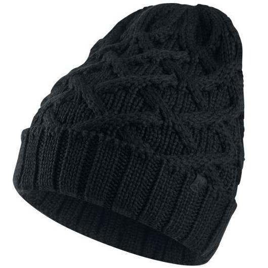 Другие товары JordanШапка Air Jordan Cable Knit Beanie<br><br>Цвет: Чёрный<br>Выберите размер US: 1SIZE