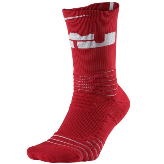 Другие товары NikeНоски баскетбольные Nike LeBron Elite Versatility Crew SockНоски Jordan Brand<br><br>Цвет: Красный<br>Выберите размер US: XL