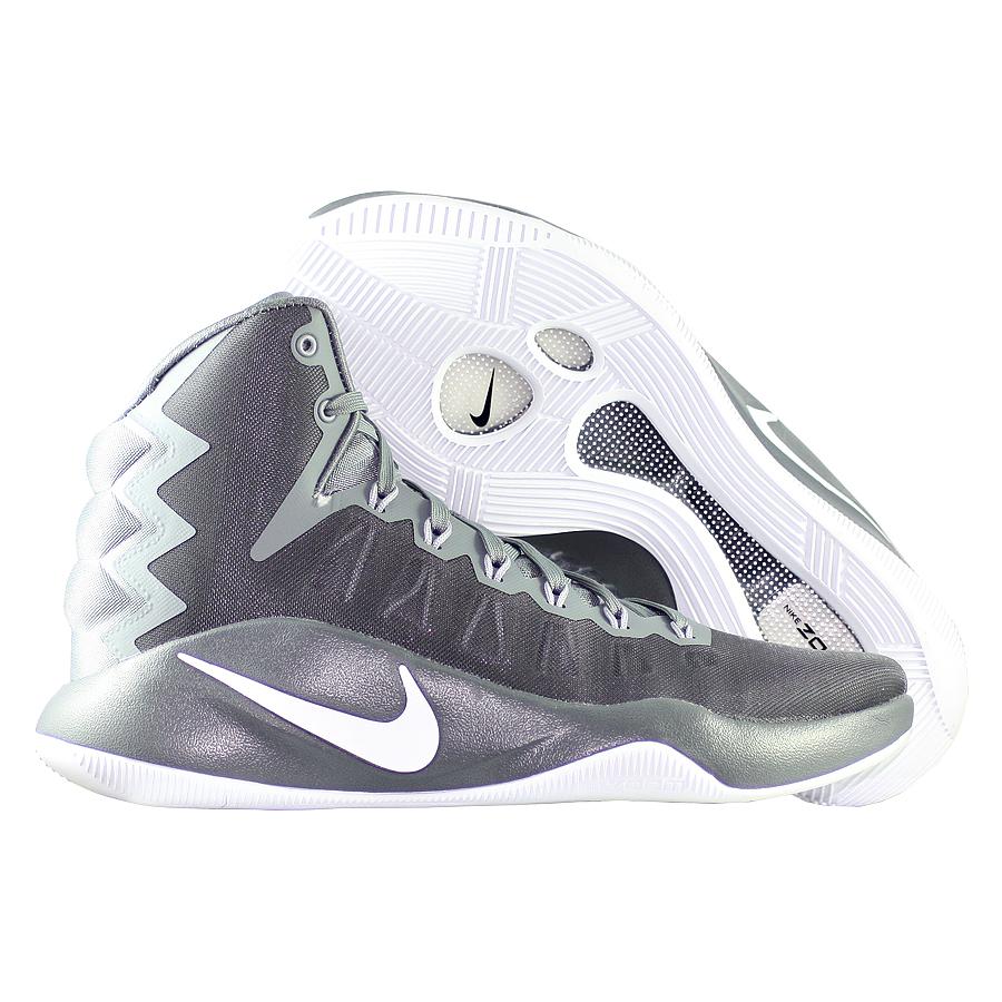 Кроссовки NikeКроссовки баскетбольные Nike Hyperdunk 2016 quot;Cool Greyquot;<br><br>Цвет: Серый<br>Выберите размер US: 15