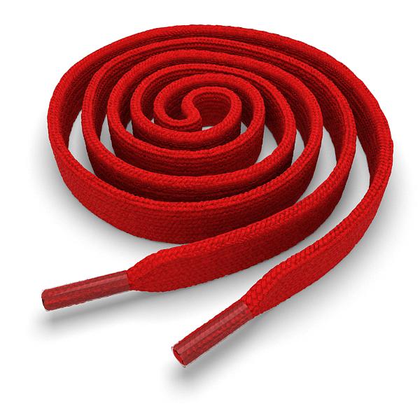 Другие товары Kickz4U.ruШнурки плоские красные 120 см<br><br>Цвет: Красный<br>Выберите размер US: 1SIZE