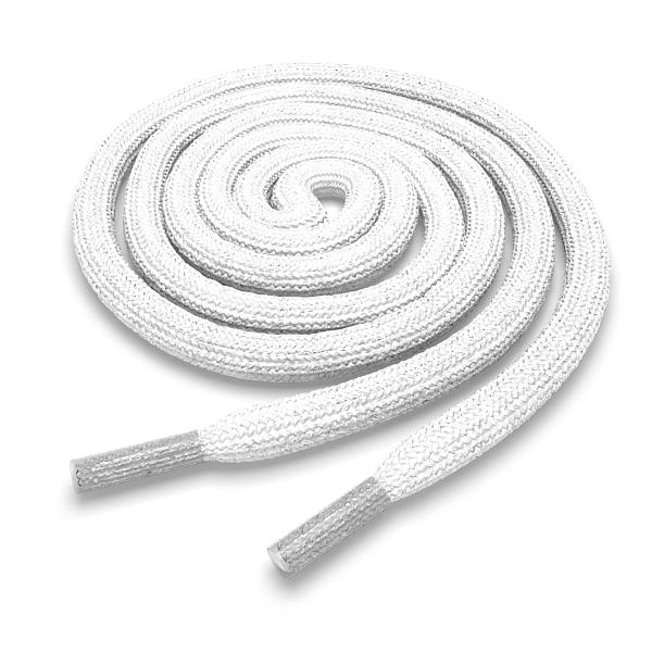 Купить Другие товары Kickz4U.ru, Шнурки круглые белые 160 см, Белый