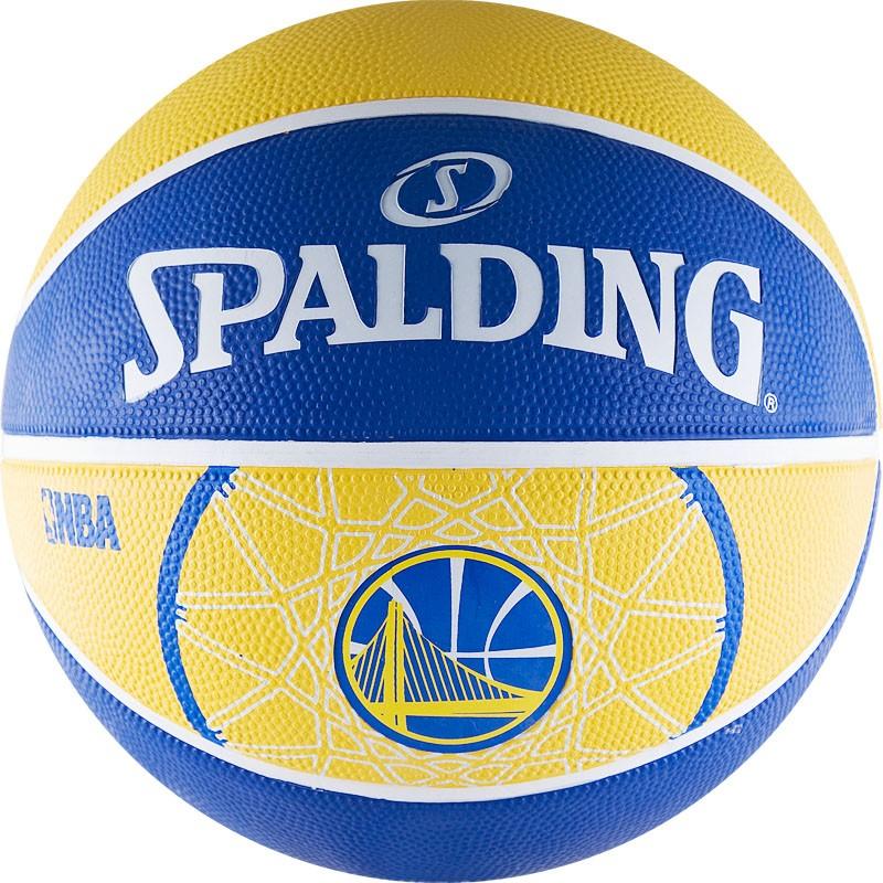 Другие товары SpaldingБаскетбольный мяч Spalding NBA Team quot;Golden State Warriorsquot; размер 7<br><br>Цвет: Синий<br>Выберите размер US: 7