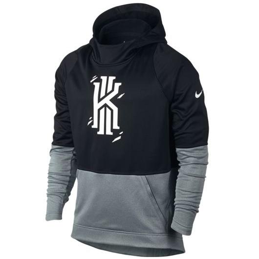 Другие товары NikeТолстовка Nike Therma Kyrie Hyper Elite HoodieТолстовка Nike с капюшоном, 100% полиэстер, машинная стирка возможна.<br><br>Цвет: Чёрный<br>Выберите размер US: 2XL