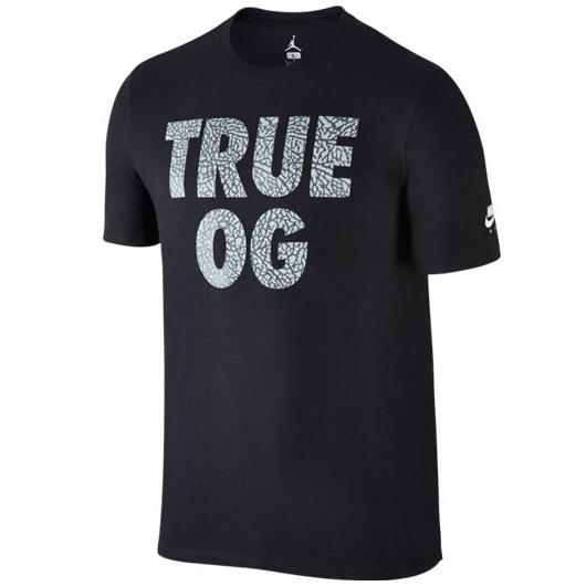 Другие товары JordanФутболка Air Jordan 3 quot;True OGquot; T-ShirtФутболка Jordan Brand. Материал 100% хлопок<br><br>Цвет: Чёрный<br>Выберите размер US: M|L|XL|2XL