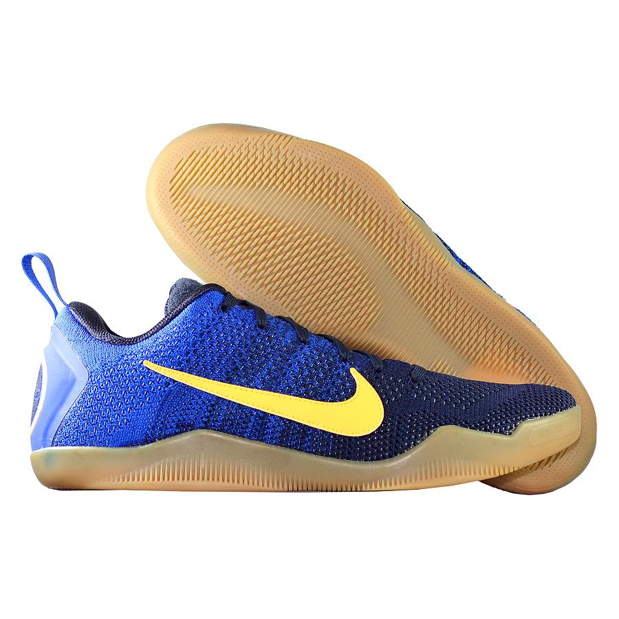 Кроссовки NikeКроссовки баскетбольные Nike Kobe 11 (XI) Elite Low quot;FCBquot;Баскетбольные кроссовки звезды НБА - Коби Брайанта, юбилейная десятая модель! Корпус выполнен из лёгких синтетических материалов, для амортизации использован баллон Zoom. Низкий профиль обеспечивает свободу игроку. Хороший выбор для занятий баскетболом!<br><br>Цвет: Мульти<br>Выберите размер US: 8