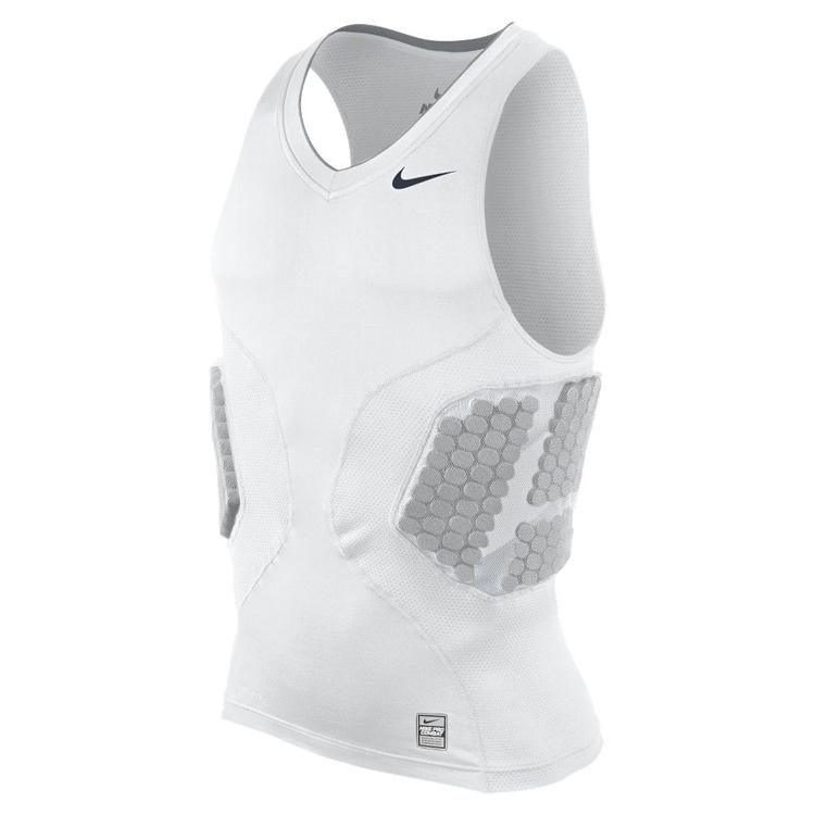 Другие товары NikeМайка компрессионная Nike Pro Combat Compression Top<br><br>Цвет: Белый<br>Выберите размер US: XL|2XL|3XL