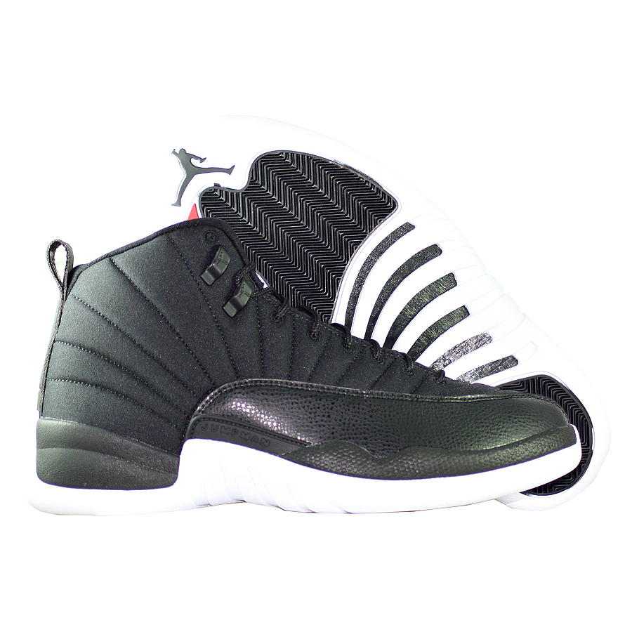 Кроссовки JordanКроссовки баскетбольные Air Jordan 12 (XII) Retro quot;Black Nylonquot;<br><br>Цвет: Чёрный<br>Выберите размер US: 10