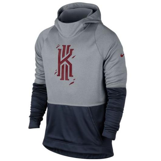 Купить Другие товары Nike, Толстовка Nike Therma Kyrie Hyper Elite Hoodie, Серый