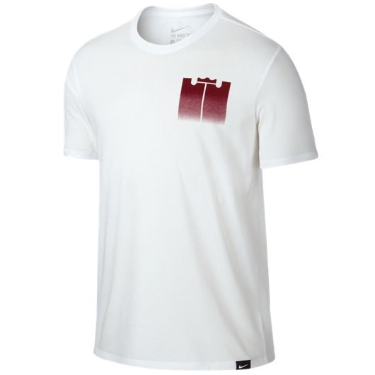 Другие товары NikeФутболка Nike LeBron Brand Mark 1 T-ShirtФутболка Nike из коллекции Kobe Bryant. Состав - 58% хлопок, 42% полиэстер.<br><br>Цвет: Белый<br>Выберите размер US: M|L|XL|2XL