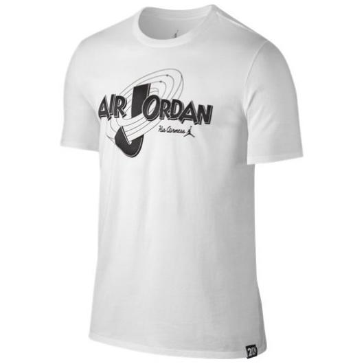 Другие товары JordanФутболка Air Jordan 11 Rings T-ShirtФутболка Jordan Brand. Материал 100% хлопок<br><br>Цвет: Белый<br>Выберите размер US: M|XL