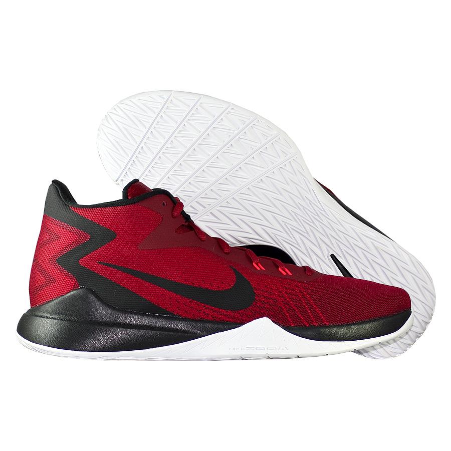 Кроссовки NikeКроссовки баскетбольные Nike Zoom Evidence<br><br>Цвет: Красный<br>Выберите размер US: 14